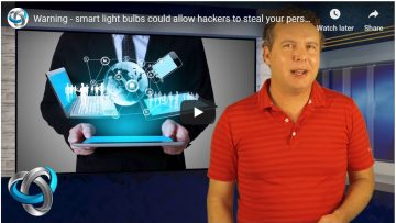 Warning - smart light bulbs could allow hackers to steal your personal data