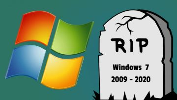 Windows 7 died today :(