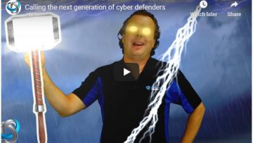 Calling the next generation of cyber defenders