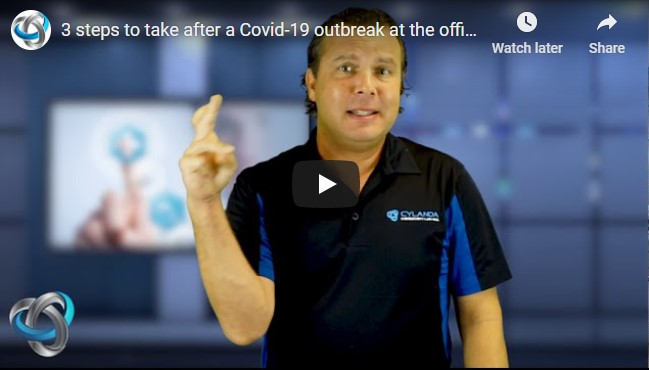 3 steps to take after a Covid-19 outbreak at the office
