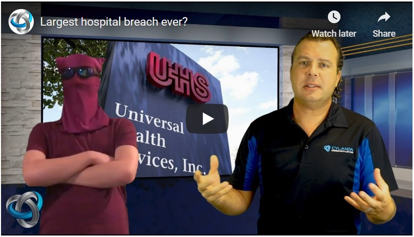 Largest hospital breach ever?