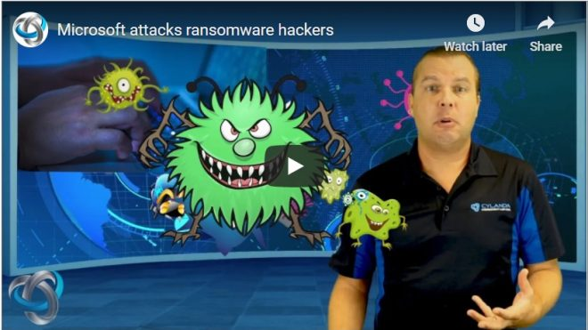 Microsoft attacks ransomware hackers