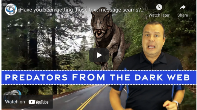 Have you been getting those text message scams?